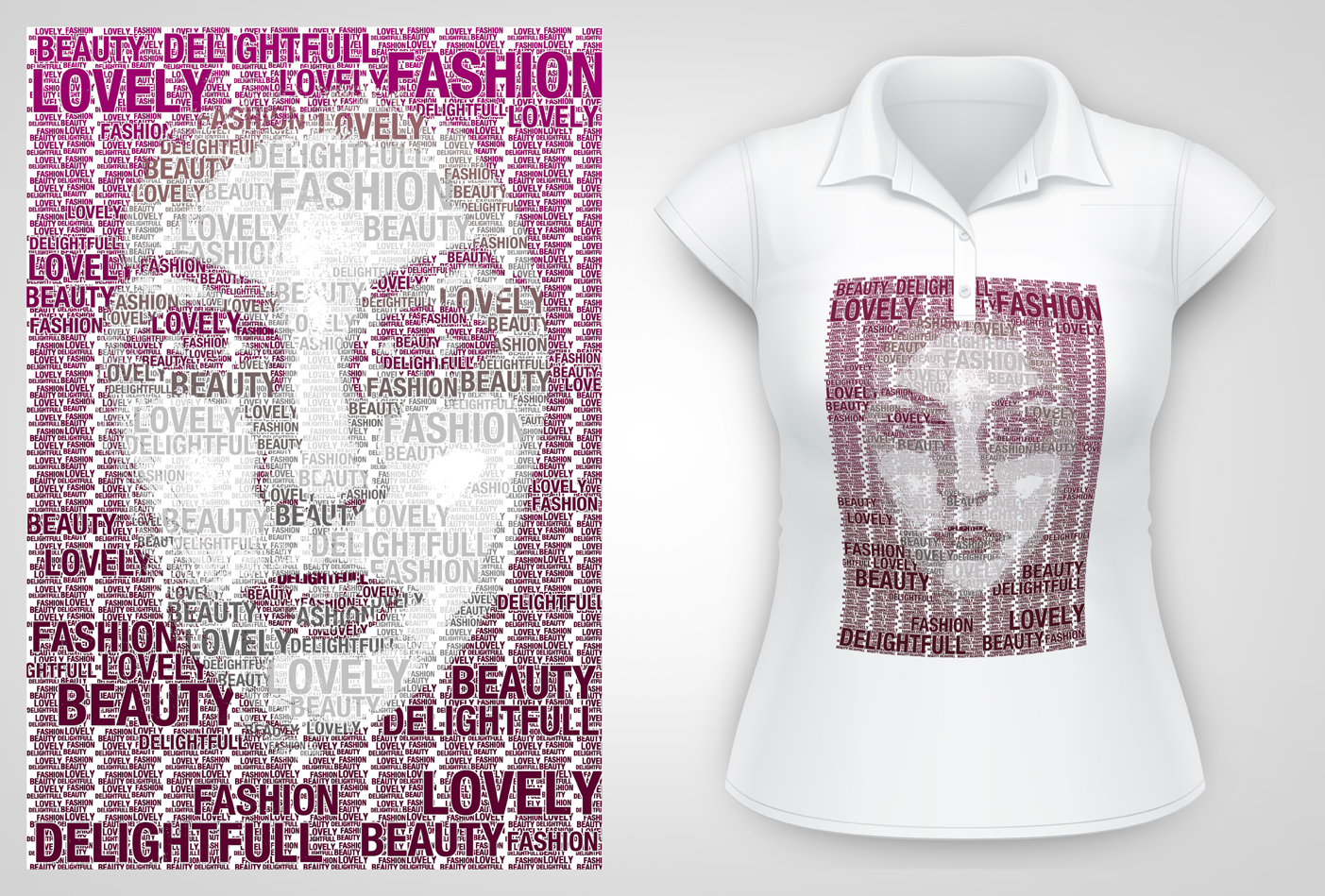 Design your own t shirt with a typography portrait tutzor - How to design your own shirt at home ...